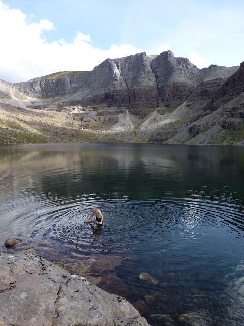 Cold swim torridon