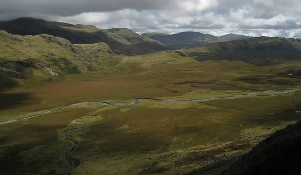 The Taming of The Great Moss, The Shrew and Scafell (A walking route up Scafell Pike)